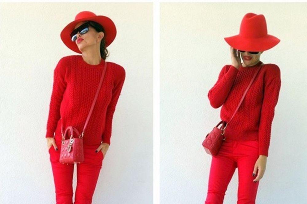 SEVE OTKRILA SVOJU TAJNU: Kad se dvoumite, obucite crveno!