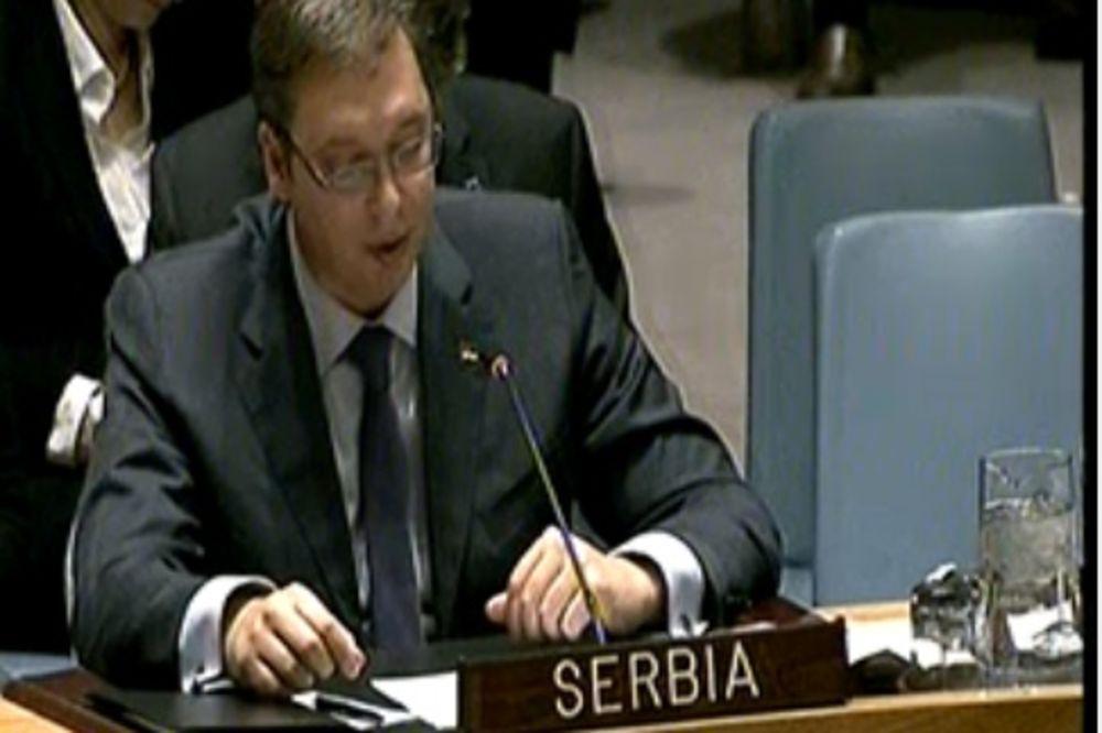 VUČIĆ U UN: Ponosni smo što smo stub stabilnosti na Balkanu