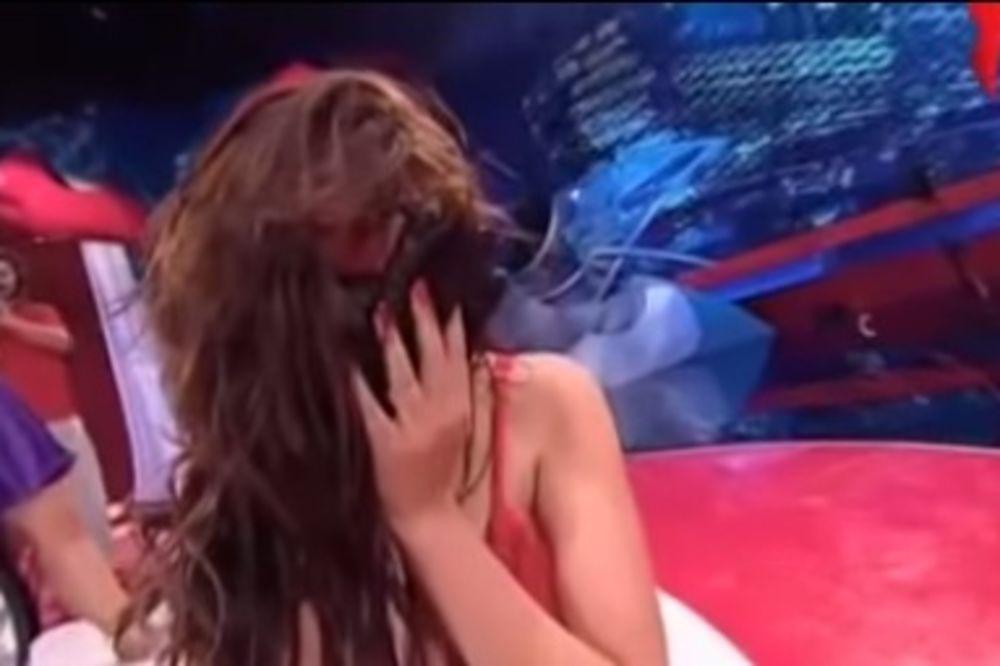 ŠOK: Takmičar pretukao devojku usred TV kviza!