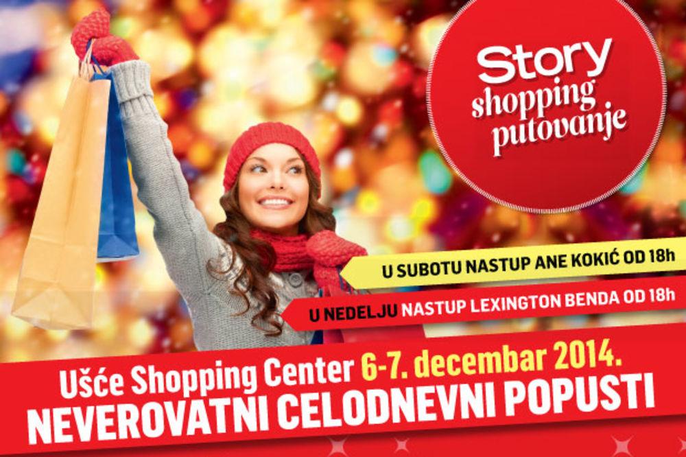 Ana Kokić i Lexington Bend nastupaju na Story shopping putovanju kroz Ušće čarobni grad