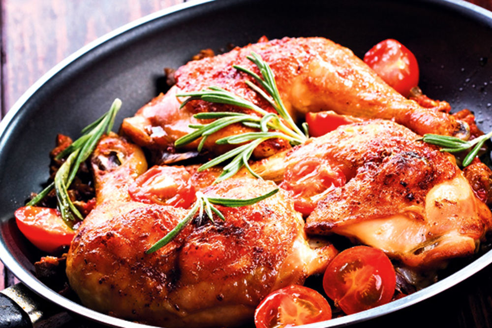 Pikantna piletina sa senfom i ruzmarinom