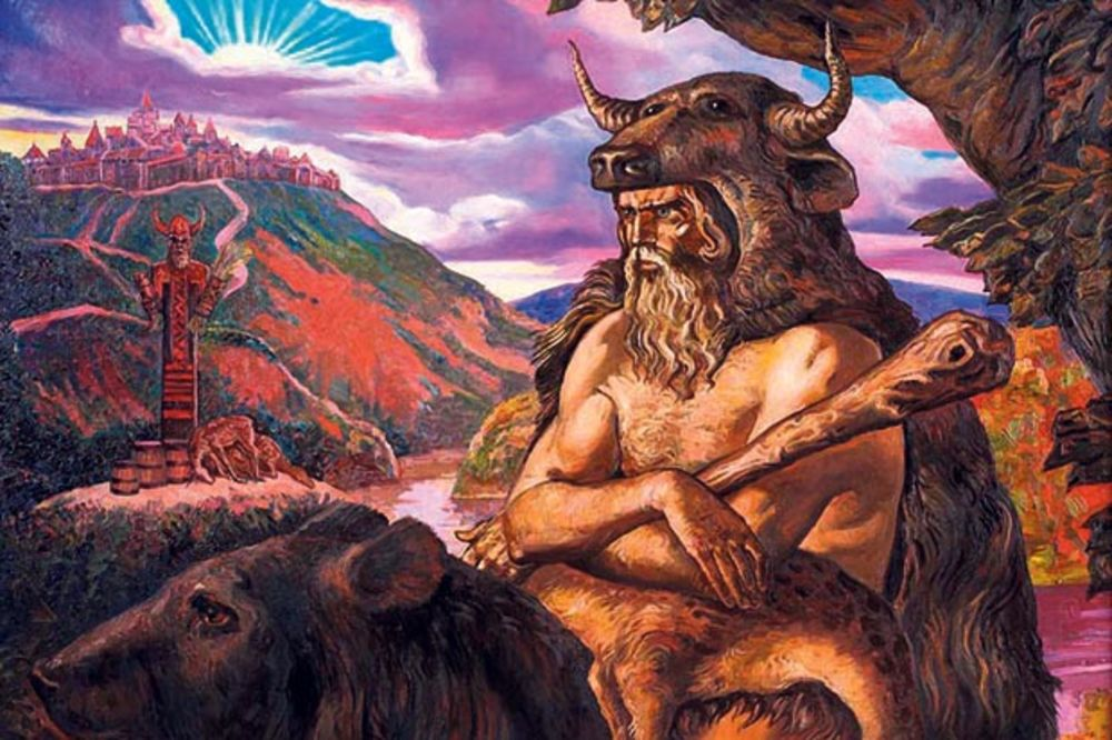 Spis posvećen važnom slovenskom božanstvu... Bog Veles