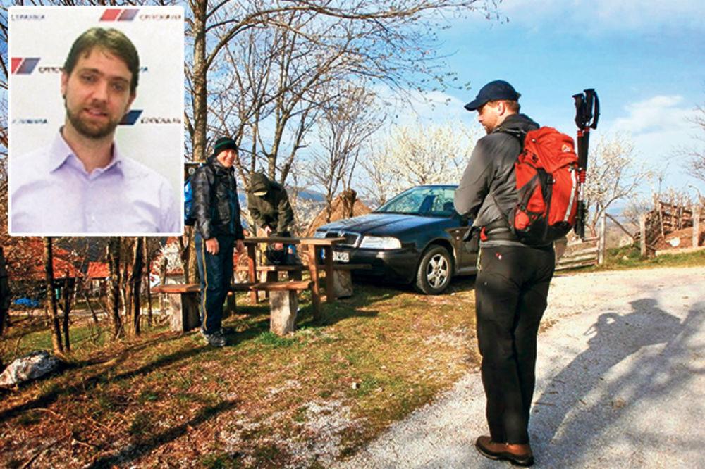 BAHATOST: Kum Radomira Nikolića na planinarenje putuje službenim automobilom