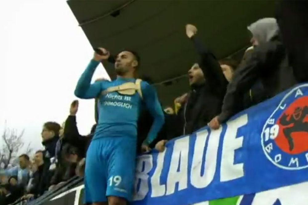 (VIDEO) SRCE JAČE OD BOLESTI: Doneo pobedu svom timu u 90. minutu iako igra sa defibrilatorom!