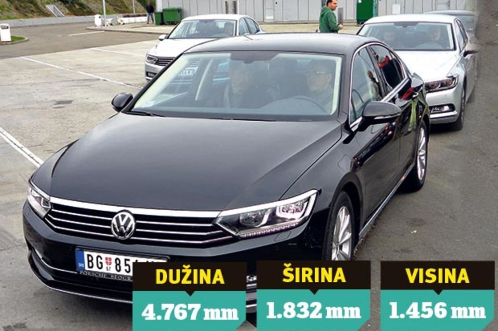 KLASA: Novi VW pasat b8 stigao u Srbiju!