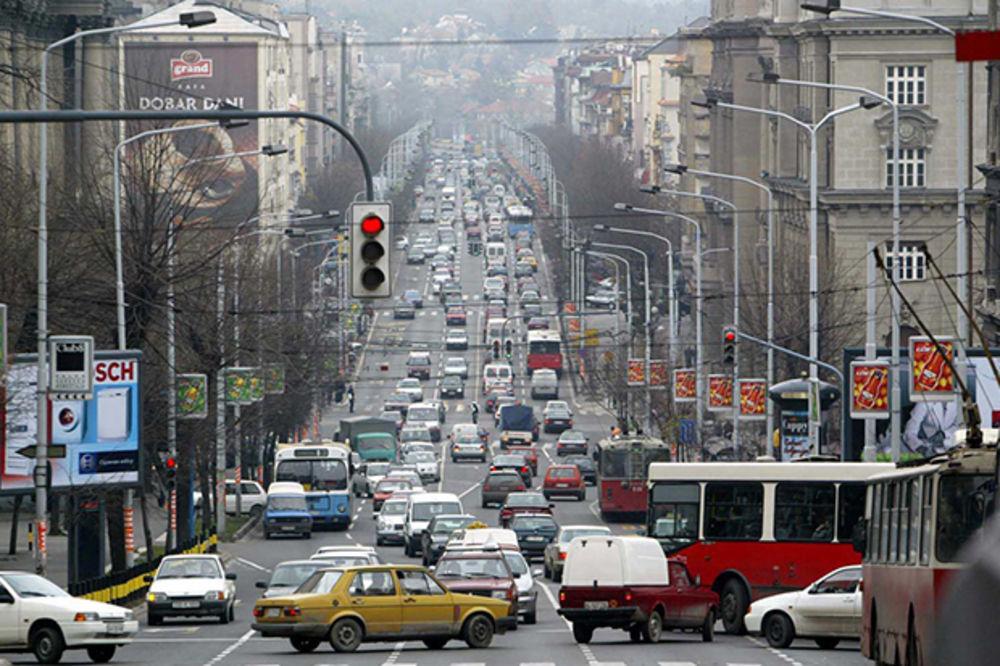 """IZMENE SAOBRAĆAJA ZBOG """"BIR FESTA"""": Saobraćaj blago pojačan na prilazima gradu"""