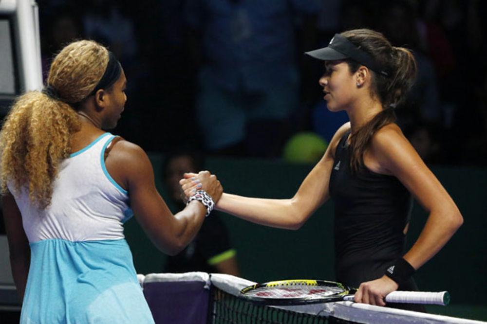 ORGANIZATORI SAOPŠTILI: Serena Vilijams prvi, a Ana Ivanović peti nosilac na Australijan openu