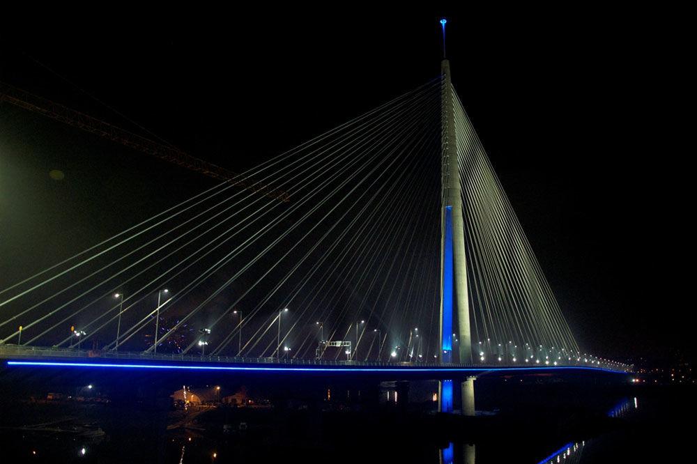 MOST NA ADI: Ponovo oštećen glavni vod za osvetljenje