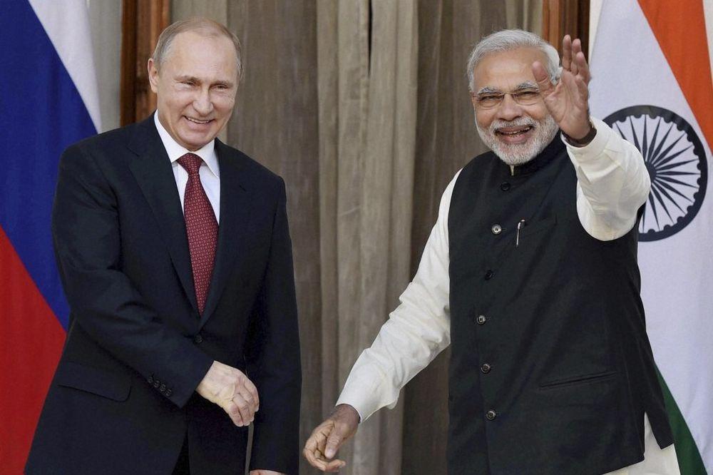 PUTIN U NJU DELHIJU: Rusija gradi 12 nuklearnih reaktora u Indiji