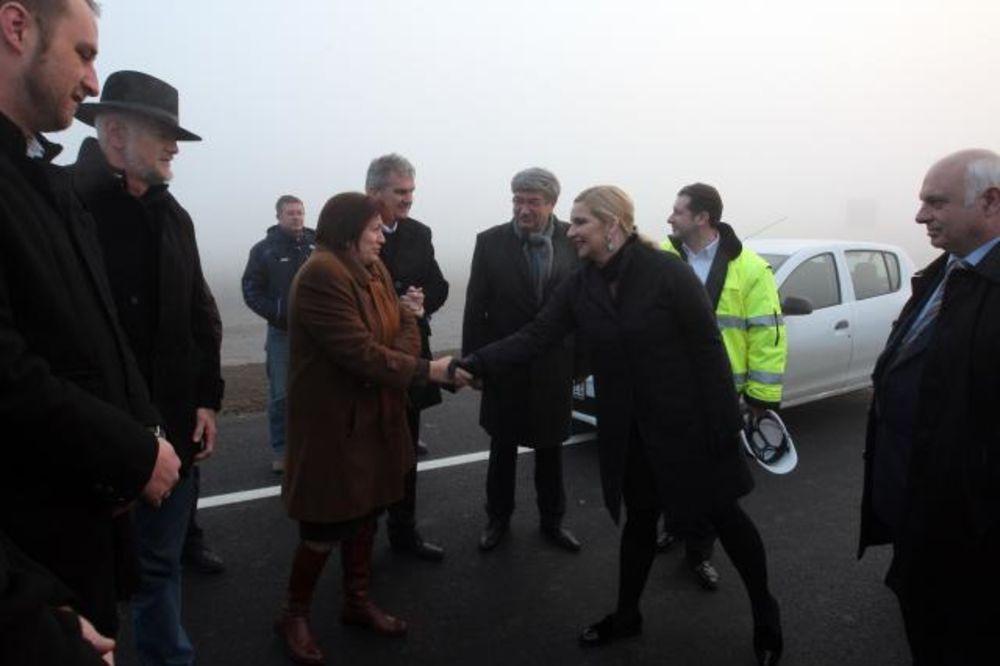 (FOTO) OKONČANI RADOVI: Završena deonica od Uba do Lakovca