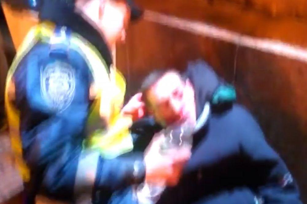 (VIDEO) NAVIJAČKI RAT U KIJEVU: Ukrajinci noževima i palicama napali Francuze, 12 povređenih