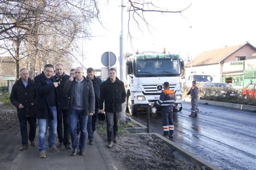 GRADONAČELNIK NOVOG SADA: Privode se kraju radovi u Partizanskoj ulici