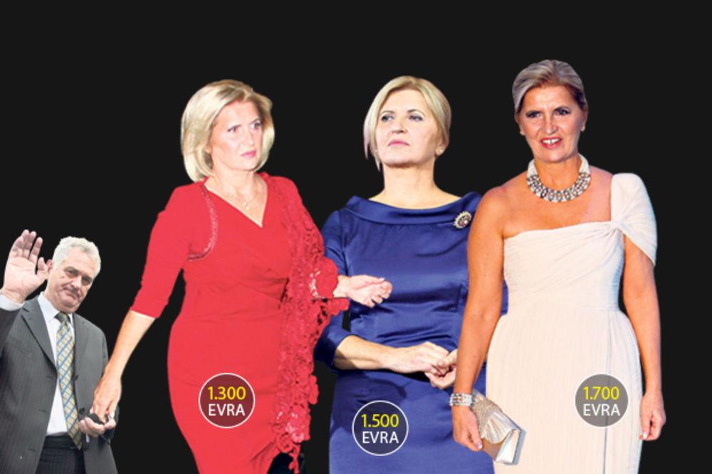 ODAKLE PARE: Tomina žena na krpice spiskala 50.000 evra!