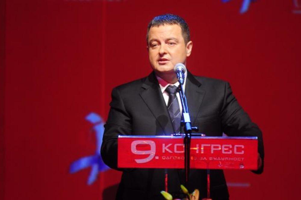 JEDNOGLASNO U SAVA CENTRU: Dačić ponovo izabran za predsednika SPS