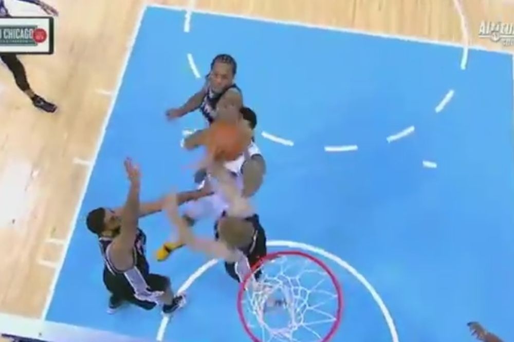 (VIDEO) TAKO TO RADI MVP: Za osam sekundi dve blokade i kucanje