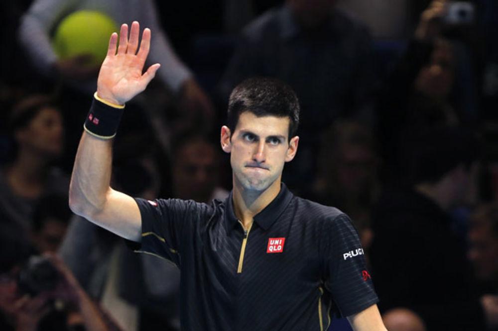 PALE OPKLADE: Đoković će i 2015. završiti na prvom mestu ATP liste