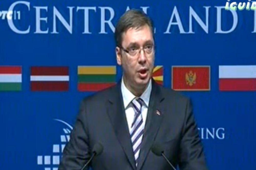 SAMIT U BEOGRADU Vučić: Srbiji je članstvo u EU nacionalni prioritet!