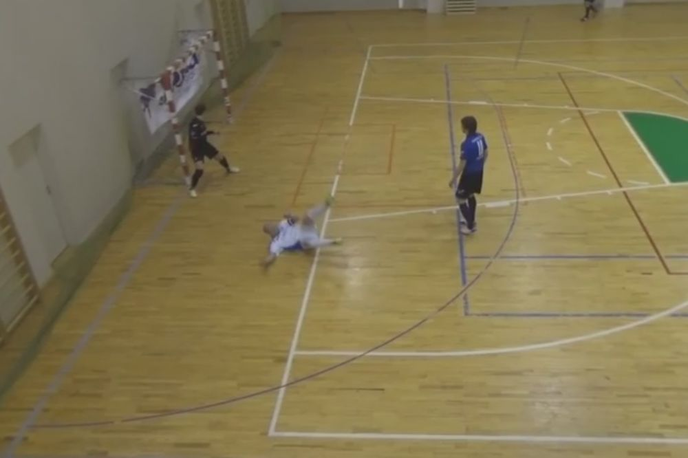 (VIDEO) ZA OVOG MOMKA NISTE ČULI: Ali postigao je perfektan futsal gol
