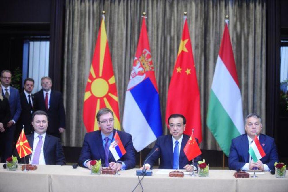 4 PREMIJERA: Potpisani sporazumi za izgradnju pruge Budimpešta - Beograd