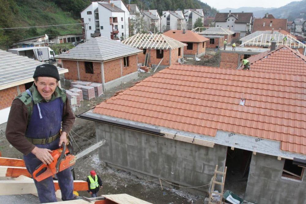 VALJEVO: Završena izgradnja kuća iz donacije Emirata