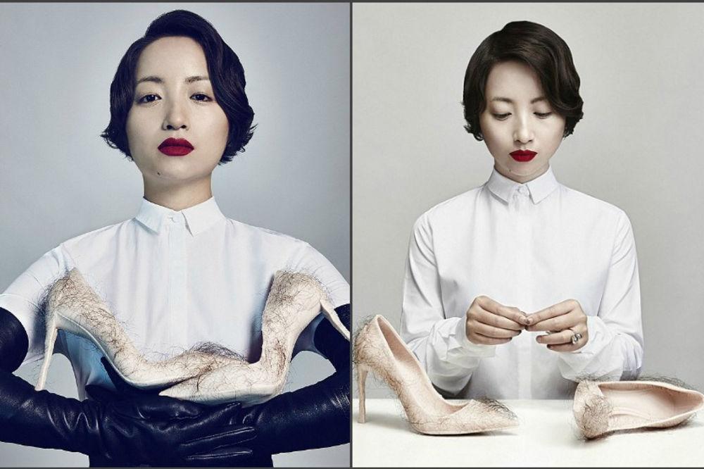 Najodvratnije cipele na svetu: Da li biste nosili štikle sa ljudskim dlakama? (FOTO)