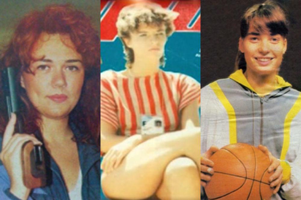 11 DAMA JUGOSLOVENSKOG SPORTA: Najbolje i najlepše u SFRJ
