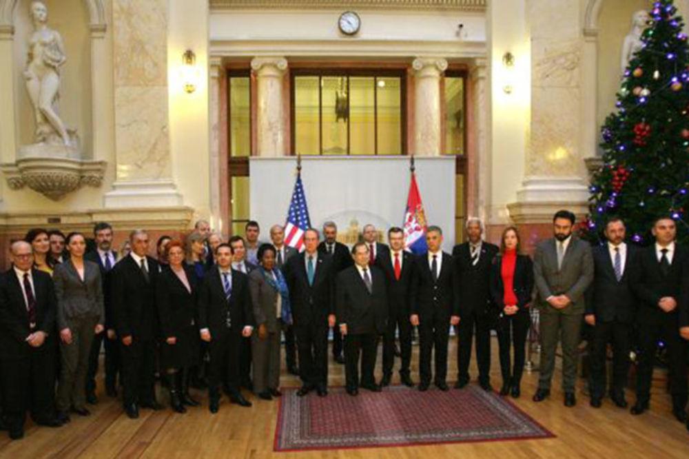 Američki kongresmeni u Skupštini Srbije