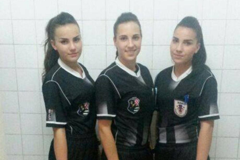 SVETSKI FENOMEN: Jedine tri sestre na svetu koje su zajedno sudile utakmicu