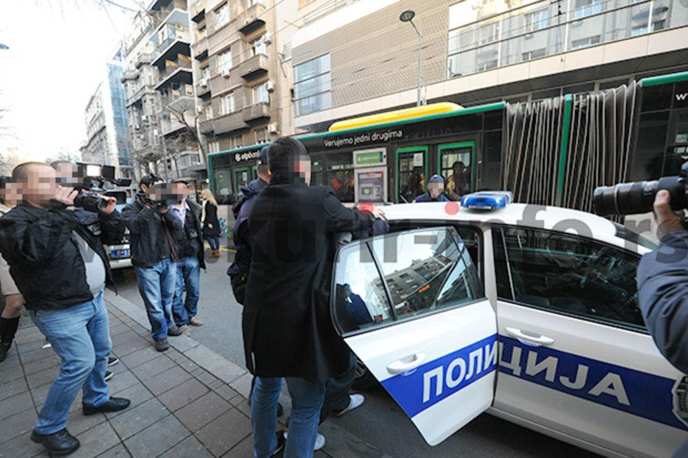 RAZBOJNIŠTVO NA NIKOLJDAN: Pogledajte kako je uhapšen osumnjičeni pljačkaš (18) banke u Makedonskoj