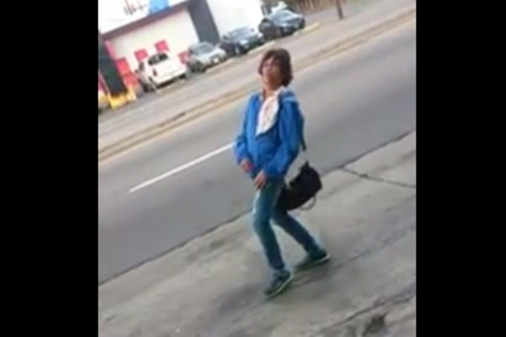(VIDEO) Ova žena se toliko napila da je počela da ide u rikverc