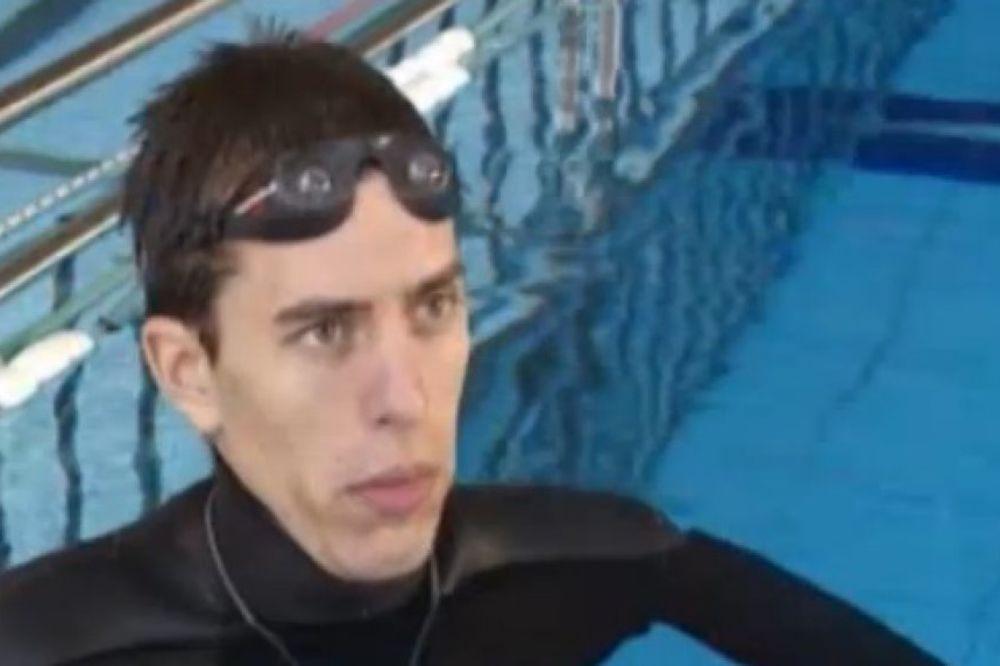 SVETSKI REKORDER: Srbin pod vodom bez vazduha 12 minuta!