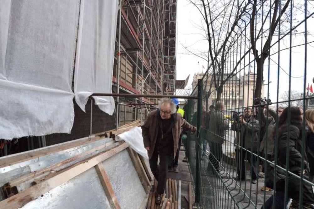 (FOTO) Počela rekonstrukcija Narodnog muzeja!