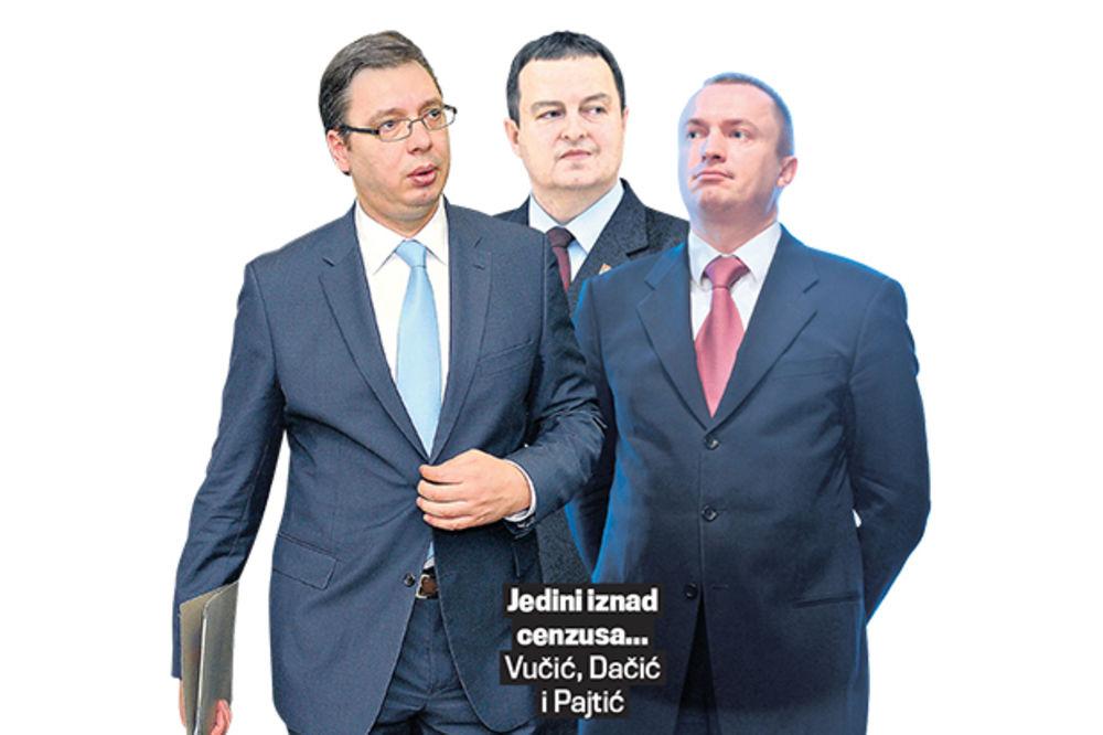 ISTRAŽIVANJE: Vučić najpopularniji lider, tek tri stranke su iznad cenzusa!