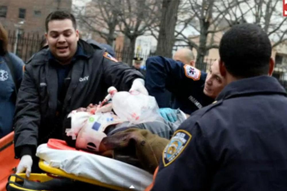 (VIDEO) DRAMA U NJUJORKU: Ubio dva policajca, pa pucao sebi u slepoočnicu!