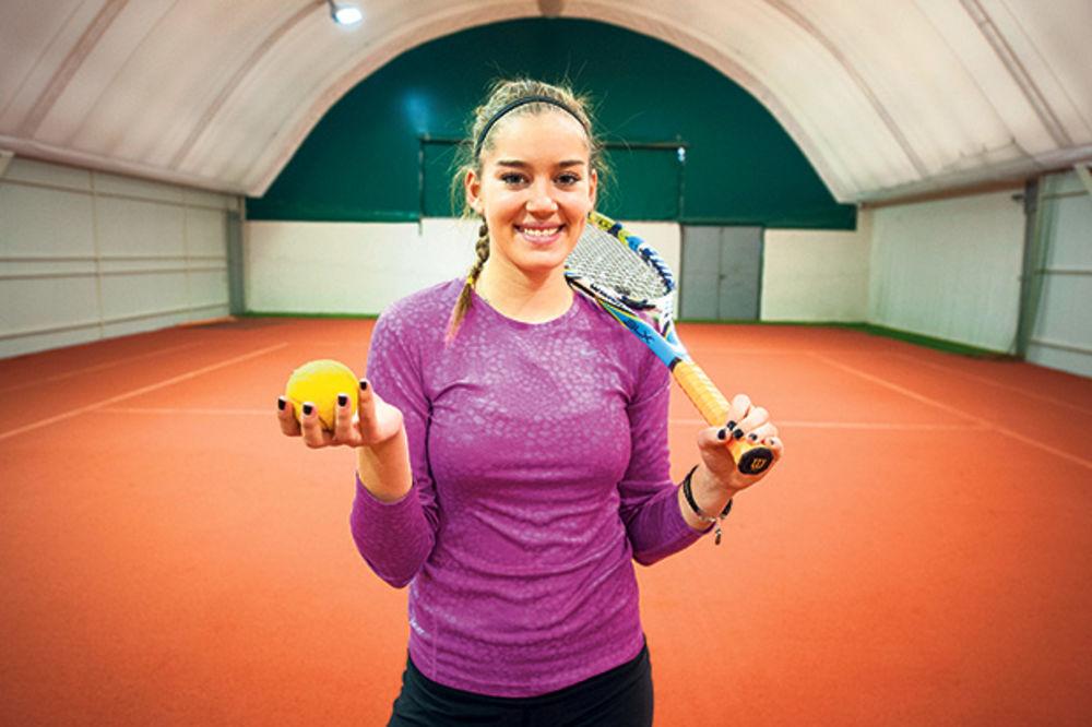 Teniserka Minja Gligić: Novak me je rasplakao!