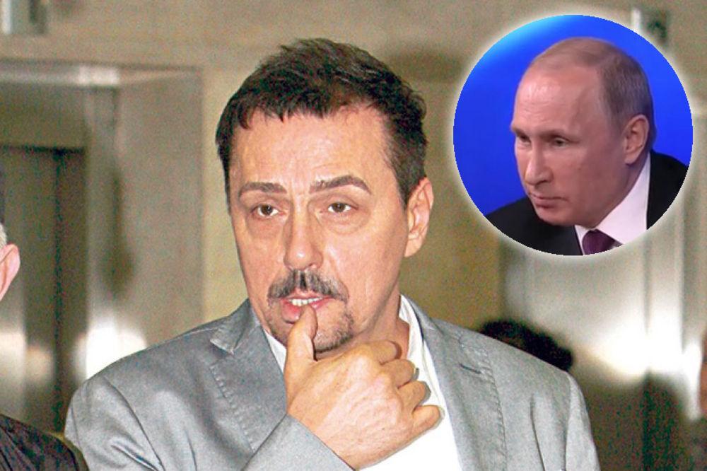 DRAGAN KOJIĆ KEBA: Hoću da imitiram Putina, ali mi ne dozvoljavaju!