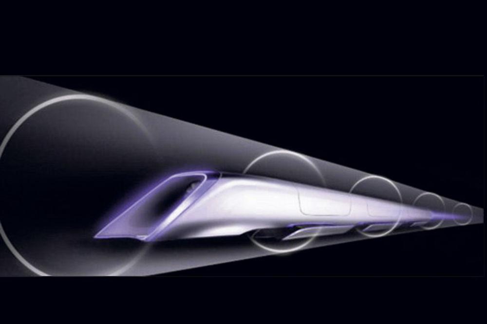 NOVA VRSTA TRANSPORTA: Voz budućnosti kroz cev ide 1.200 km/h!