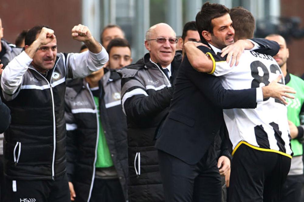 (VIDEO) KUMOVSKI REMI MIHAJLOVIĆA I STANKOVIĆA: Udineze izvukao bod protiv Sampdorije