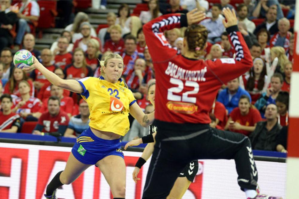 LAVICE BEZ ODLIČJA: Šveđanke se revanširale Crnogorkama i osvojile bronzanu medalju