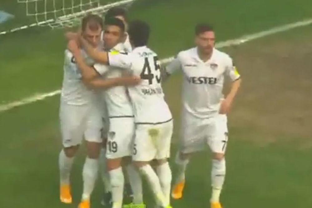 (VIDEO) ZVEZDAŠI SPASAVAJU MANISU: Milijaš i Subašić doneli trijumf turskom drugoligašu