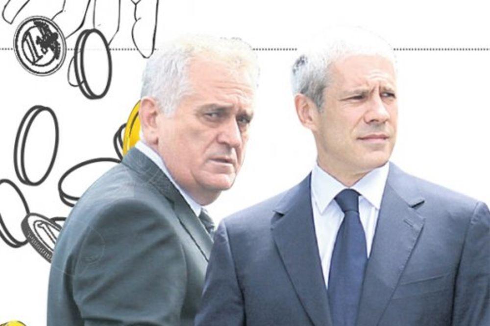 TAJNE VEZE: Toma i Tadić jedini priznali da su ih tajkuni finansirali!