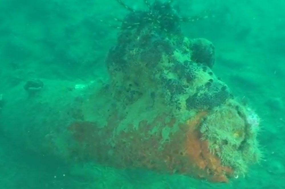 (VIDEO) HERCEG NOVI: Neeksplodirane bombe u moru i dalje prete!