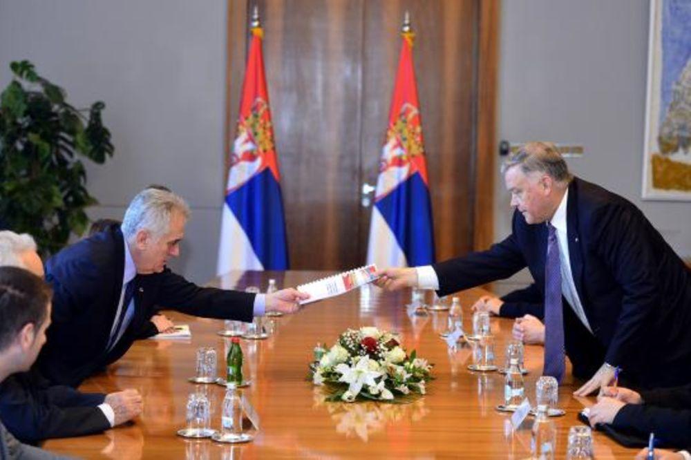 DIREKTOR RUSKIH ŽELEZNICA KOD NIKOLIĆA: Projekat lično nadgleda predsednik