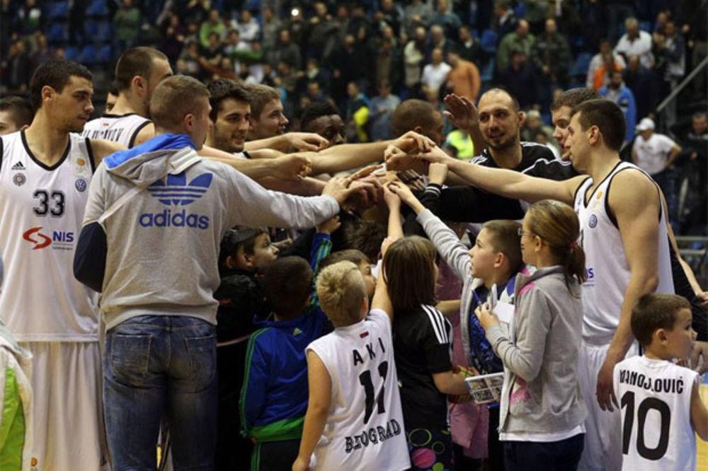 TAKO BLIZU, A TAKO DALEKO: Pročitajte šta Partizan treba da uradi da bi ušao u plej-of ABA lige