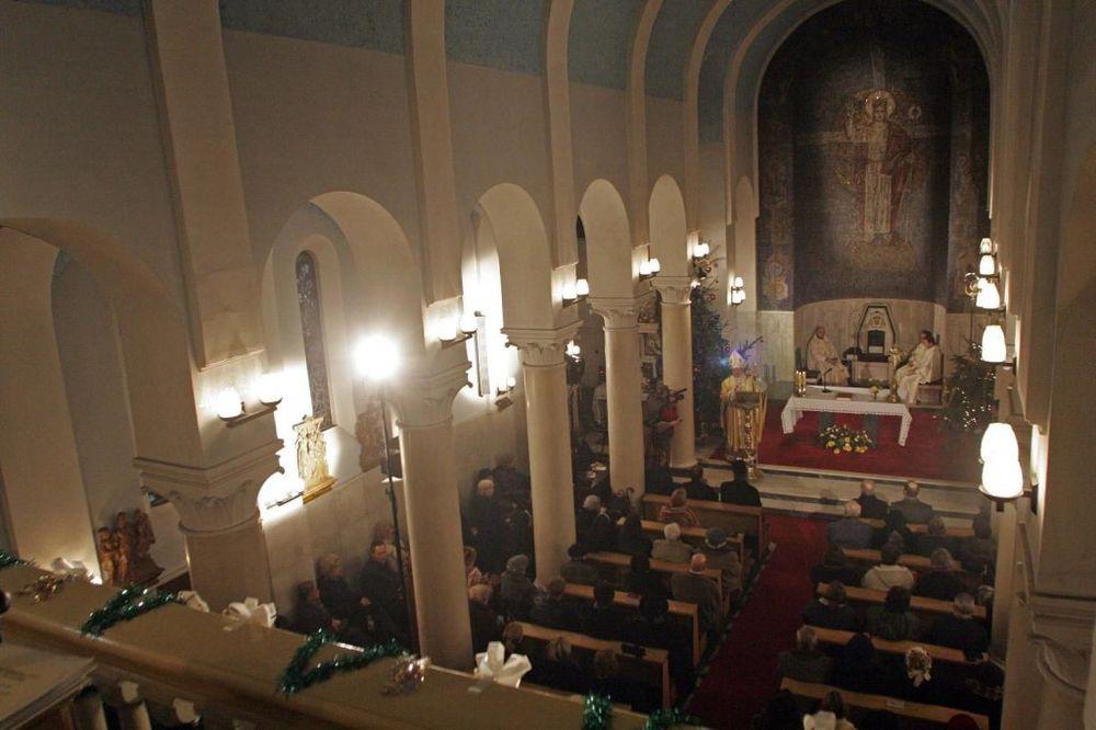 Božićne mise u crkvama Beogradske nadbiskupije