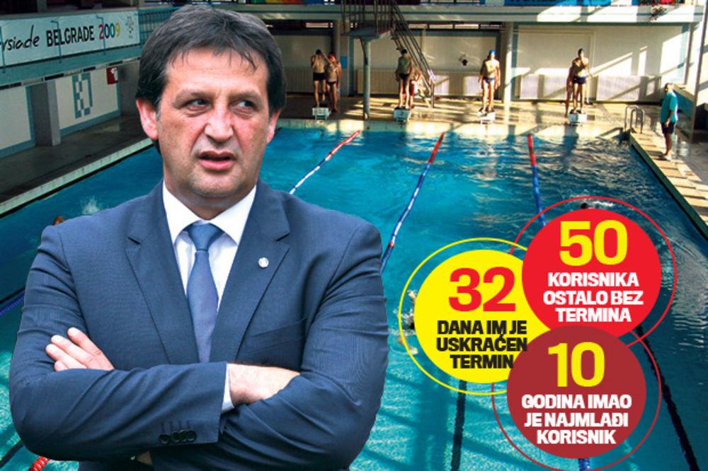 SRAMOTA: Ministri izbacili decu invalide s bazena da bi mogli da se brčkaju!