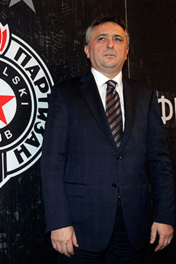 PRVI ČOVEK CRNO-BELIH: Zoran Popović novi predsednik Partizana