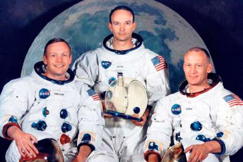 Prvi posetioci Meseca sa Zemlje... Armstrong, Kolins i Oldrin