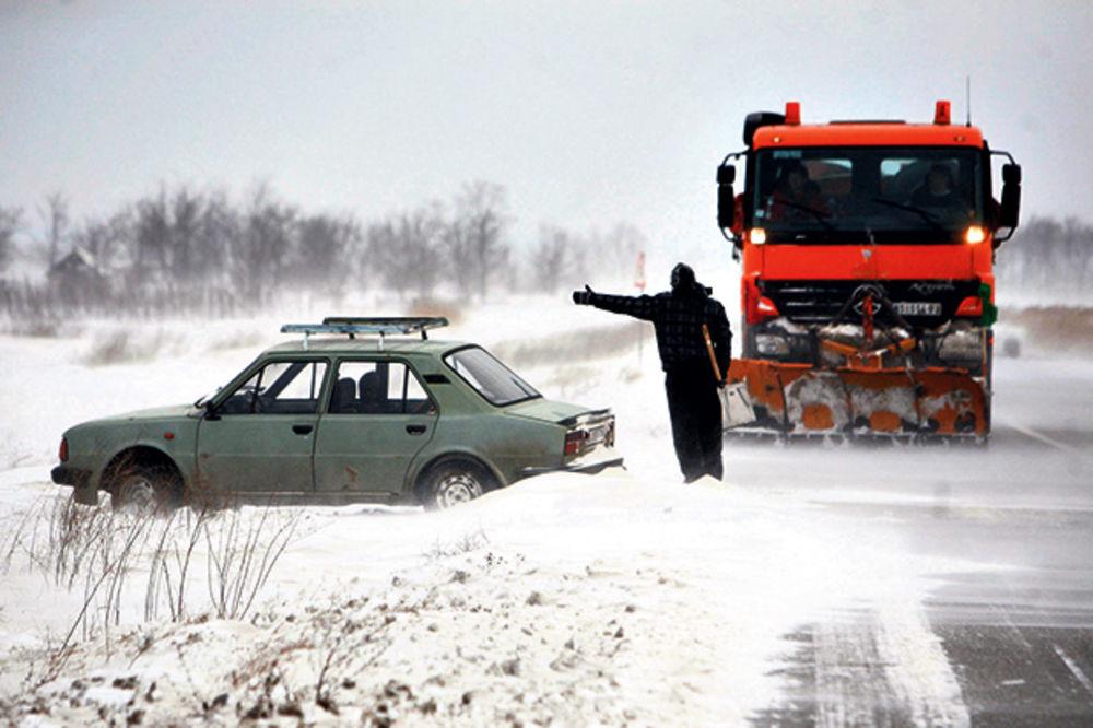 Ciklon Ines razoriće region, očekuje nas snežno nevreme!