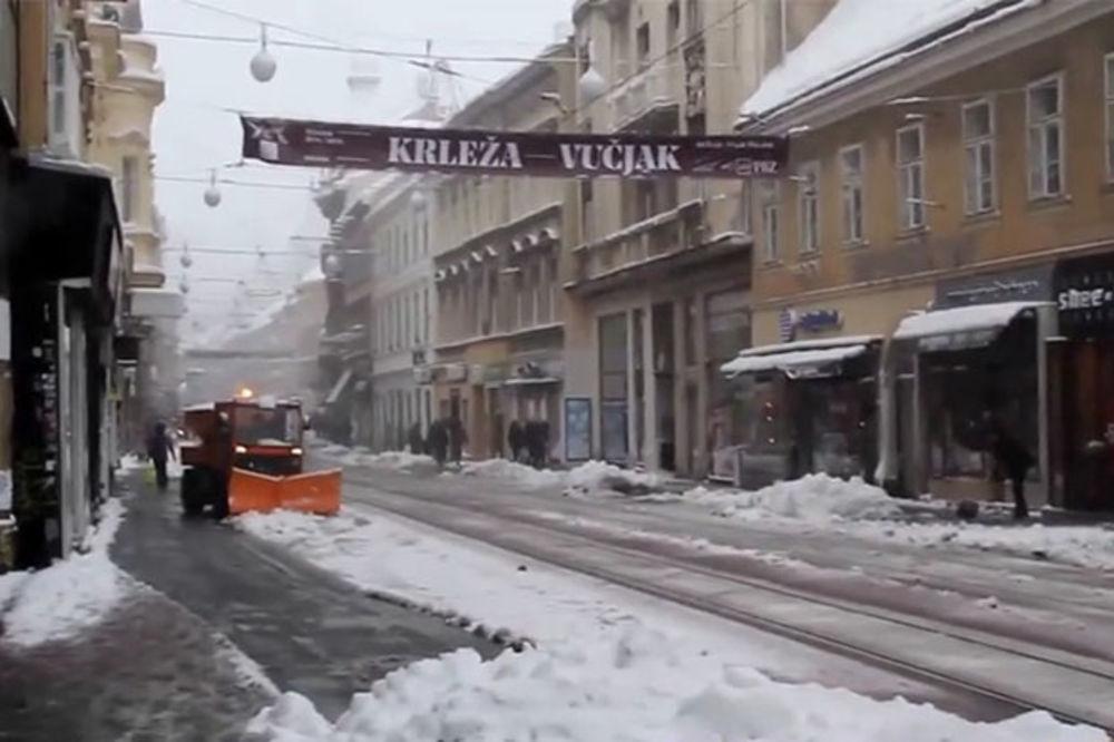 (VIDEO) OD OVOG JE SRBIJA STREPELA: Balkan se probudio okovan snegom i ledom